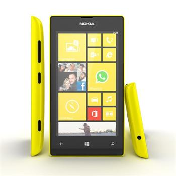 Nokia Lumia 520, WindowsPhone 8, Yellow