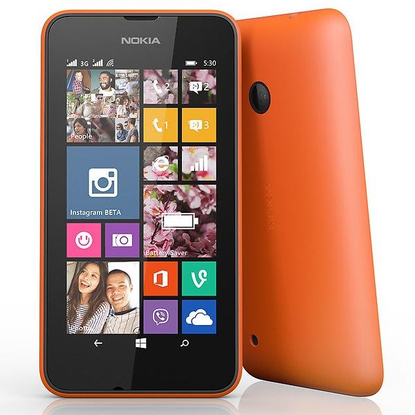 Nokia Lumia 530, Dual SIM, Orange - SK distrib�cia