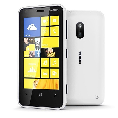 Nokia Lumia 620, WindowsPhone 8, White - SK distrib�cia