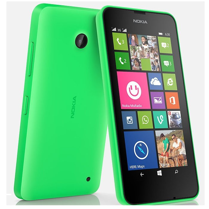 Nokia Lumia 630, WindowsPhone 8.1, Dual SIM, Green - SK distrib�cia