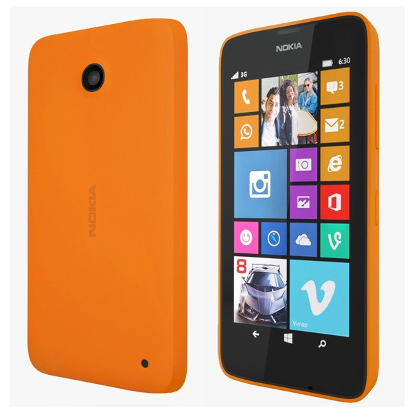 Nokia Lumia 630, WindowsPhone 8.1, Dual SIM, Orange - SK distrib�cia