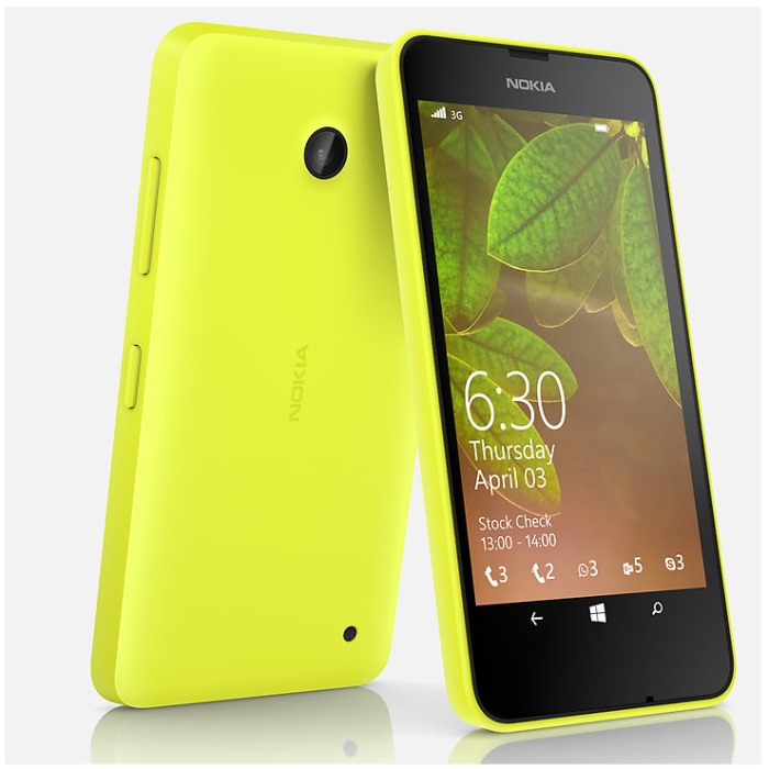 Nokia Lumia 630, WindowsPhone 8.1, Dual SIM, Yellow - SK distrib�cia