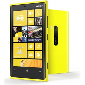 Nokia Lumia 920, WindowsPhone 8, Yellow