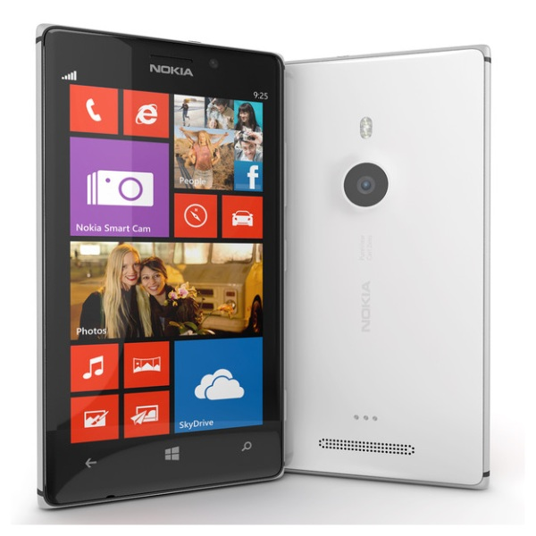 Nokia Lumia 925, WindowsPhone 8, White - SK distrib�cia