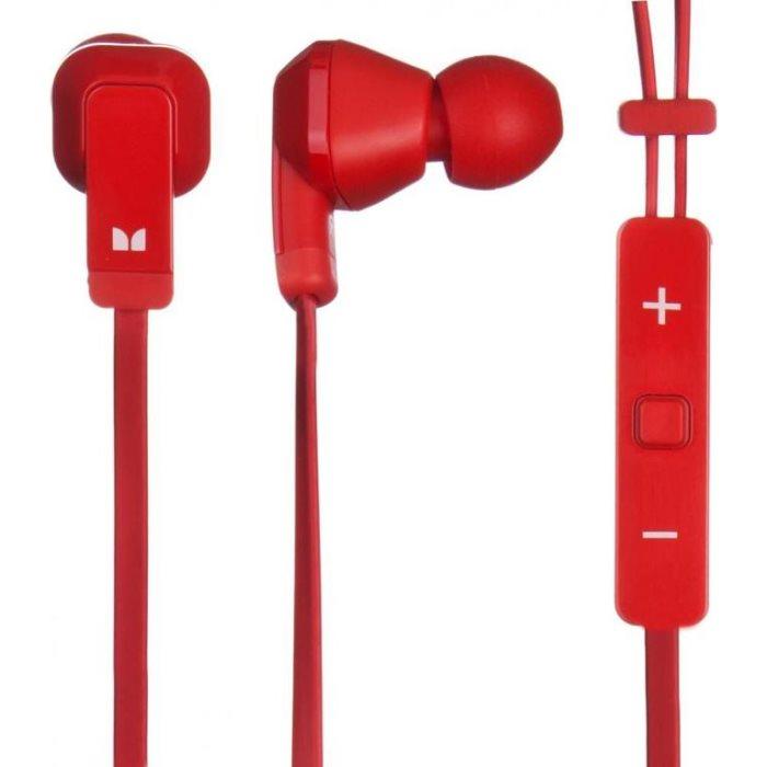 Nokia WH-920, Stereo Headset by Monster, Red - OPENBOX (Rozbalený tovar s plnou zárukou)
