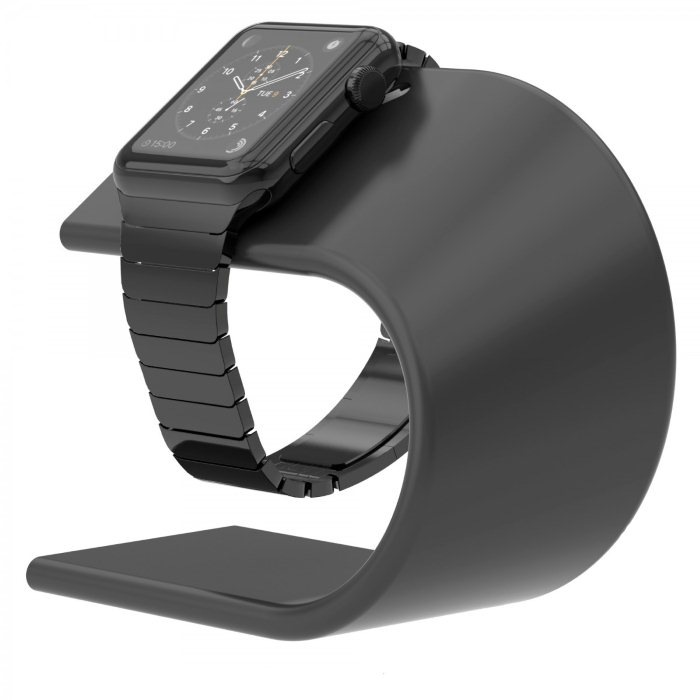 Nomad Stand - stojan pre Apple Watch, Space Gray