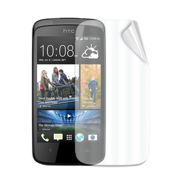 Ochranná fólia Celly pre HTC Desire 601 - 2 kusy, lesklá