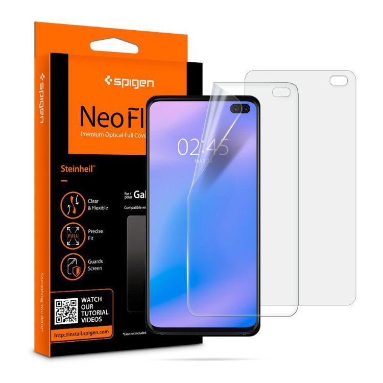 Ochranná fólia Spigen Neo Flex HD pre Samsung Galaxy S10 Plus - G975F 606FL25695