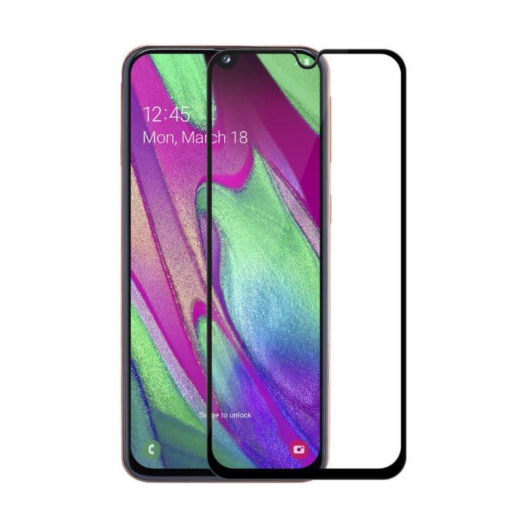 Ochranné sklo Nillkin 2.5D CP+ pre Samsung Galaxy A40 - A405F, Black