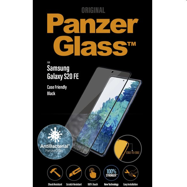 PanzerGlass Case Friendly AB for Samsung Galaxy S20 FE - G780F, black