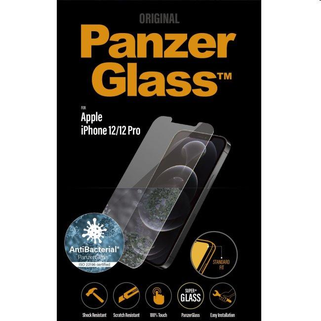 Ochranné sklo PanzerGlass Standard Fit AB pre Apple iPhone 12/12 Pro, clear