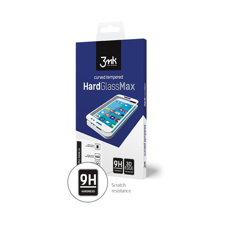 Ochranné temperované sklo 3mk HardGlass Max 3D pre Apple iPhone X a Apple iPhone Xs, čierne