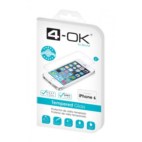 Ochranné temperované sklo 4-OK pre Apple iPhone 6 a Apple iPhone 6S