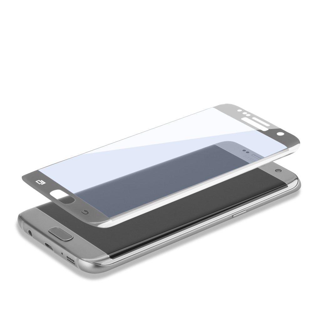 Ochranné temperované sklo 4Smarts pre Samsung Galaxy S7 Edge - G935F - Silver