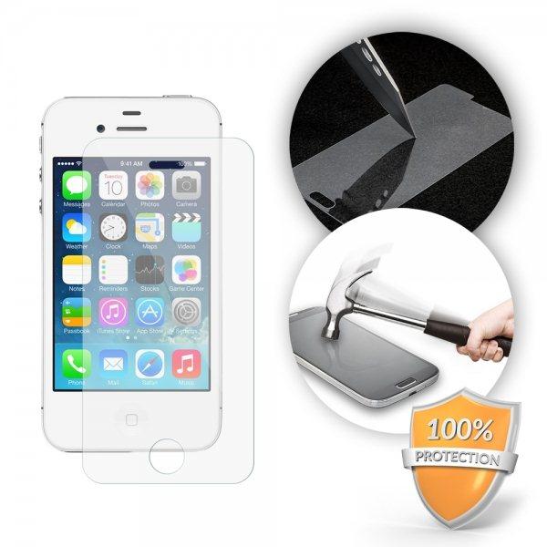 Ochranné temperované sklo Excelente pre Apple iPhone 4 a Apple iPhone 4S + zadná strana