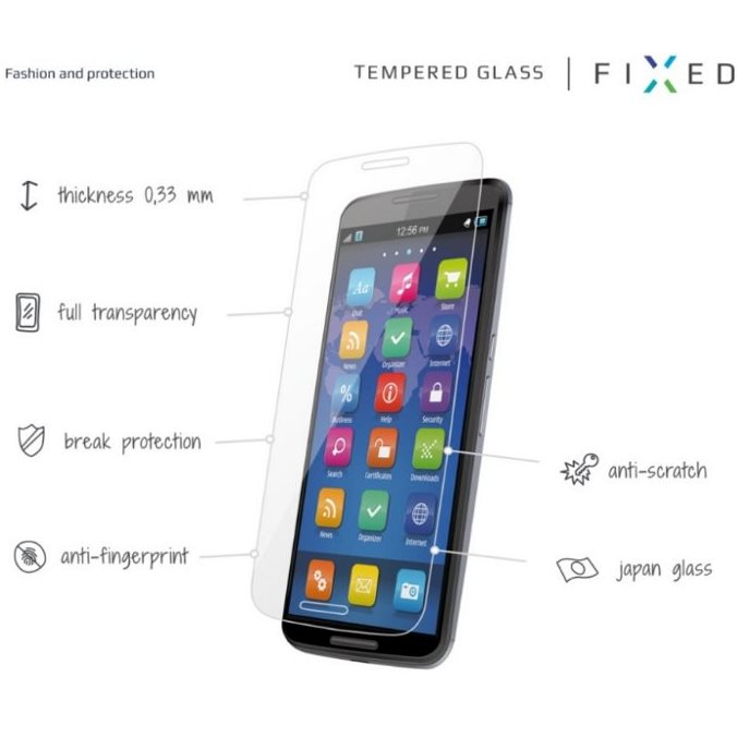 Ochranné temperované sklo Fixed Premium pre Lenovo Vibe K6 Note