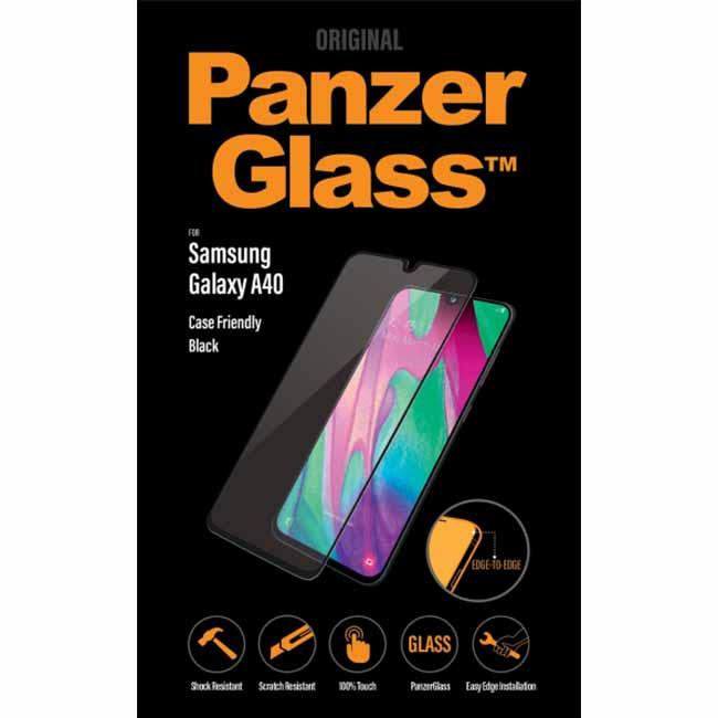 Ochranné temperované sklo PanzerGlass Case Friendly pre Samsung Galaxy A40 - A405F 7189