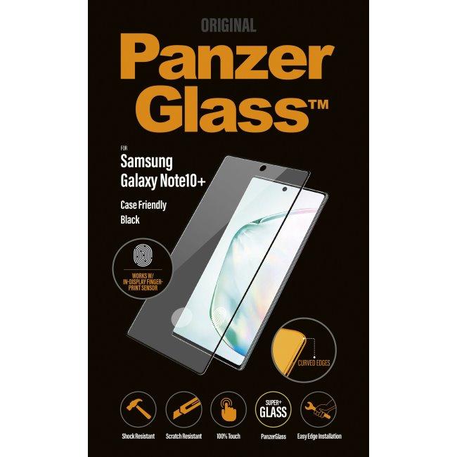 Ochranné temperované sklo PanzerGlass Case Friendly pre Samsung Galaxy Note 10 Plus - N975F, čierne
