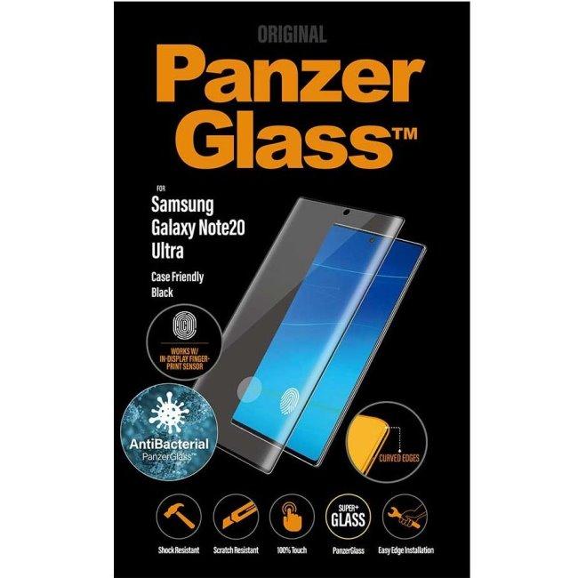 Ochranné temperované sklo PanzerGlass Case Friendly pre Samsung Galaxy Note 20 Ultra - N986B, Fingerprint komp., black