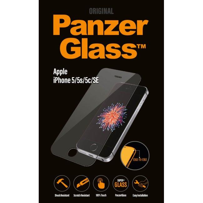 Ochranné temperované sklo PanzerGlass na celý displej pre Apple iPhone 5/ 5S/ 5C/ SE 1010