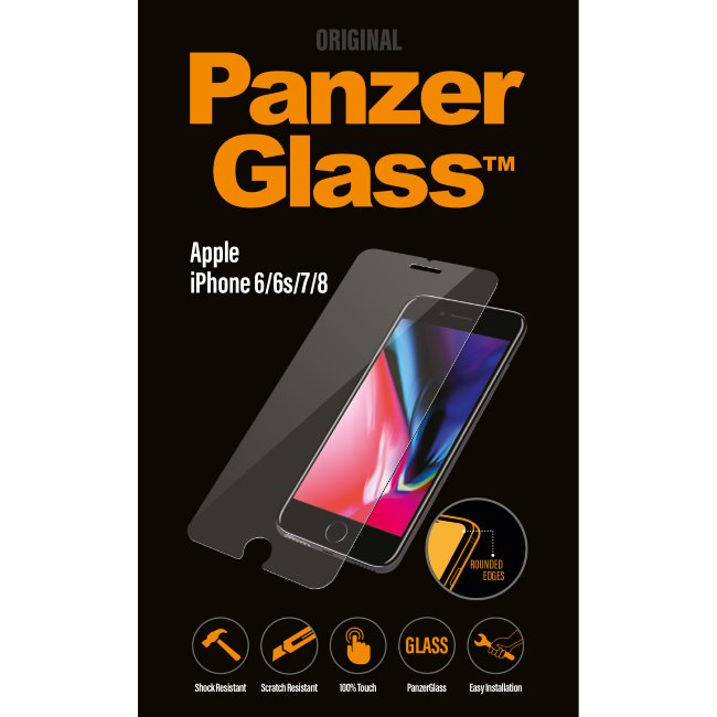 Ochranné temperované sklo PanzerGlass Standard Fit pre Apple iPhone 6/ 6S/ 7/ 8