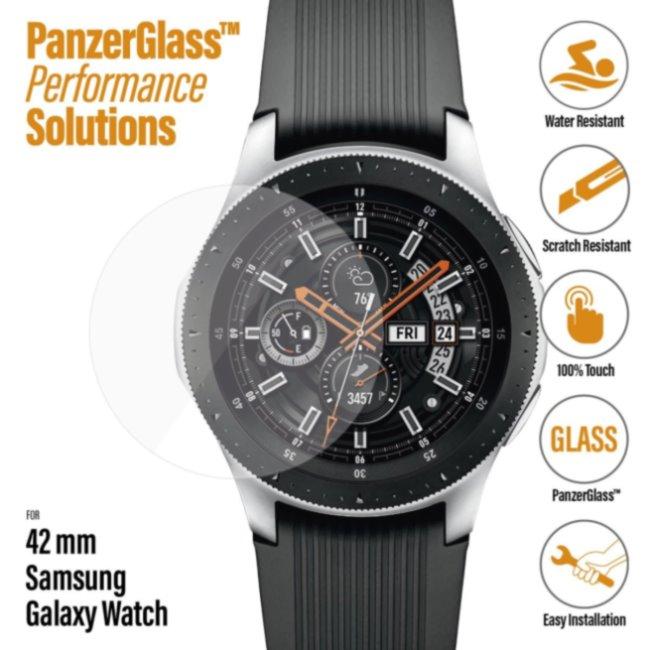Ochranné temperované sklo PanzerGlass pre Samsung Galaxy Watch 42 mm
