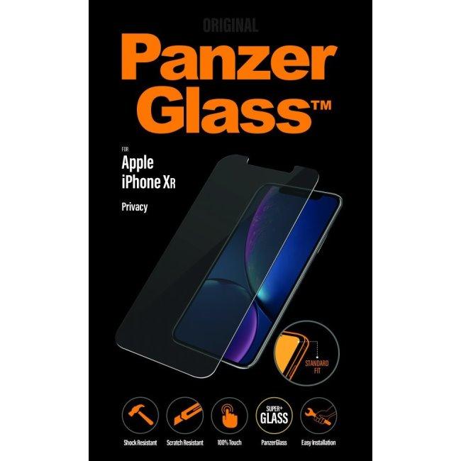 Ochranné temperované sklo PanzerGlass s privátnym filtrom pre Apple iPhone Xr