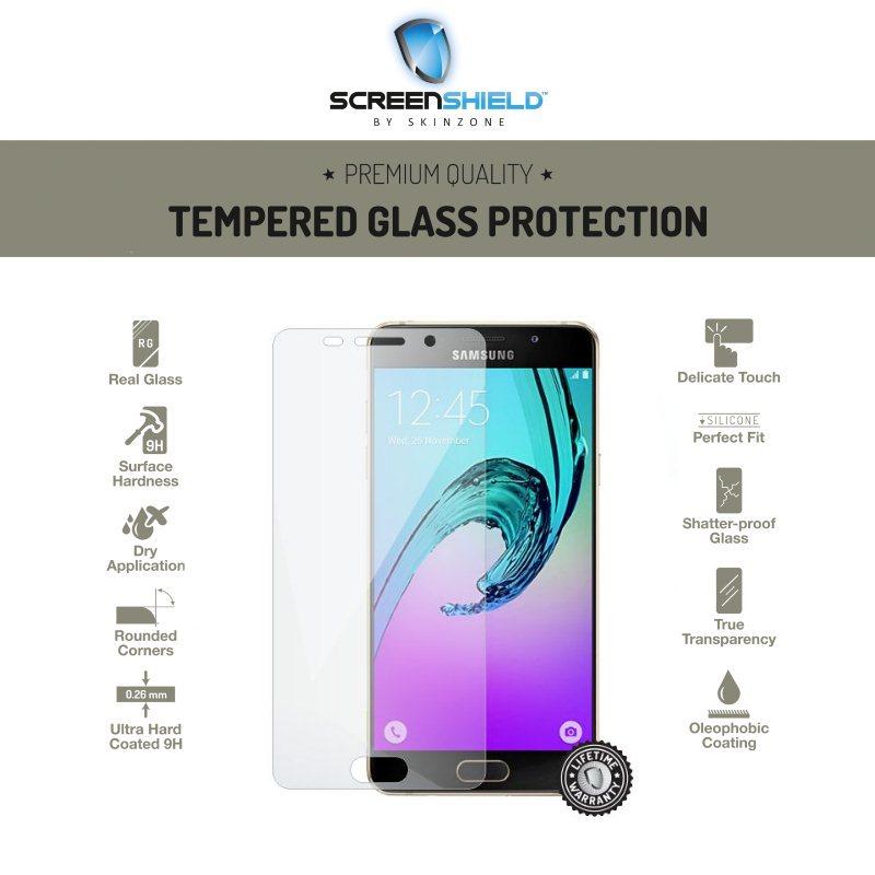 Ochranné temperované sklo ScreenShield pre Samsung Galaxy A5 2016 - A510F - Doživotná záruka