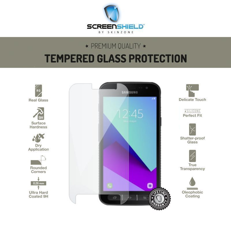 Ochranné temperované sklo ScreenShield pre Samsung Galaxy Xcover 4 - G390F - Doživotná záruka SAM-TGG390-D