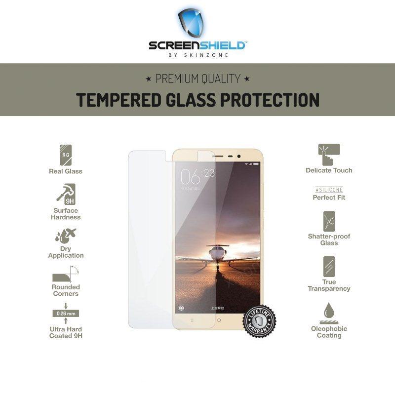 Ochranné temperované sklo ScreenShield pre Xiaomi Redmi Note 3 / Note 3 PRO - Doživotná záruka