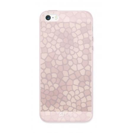 Ochranný ozdobný kryt 4-OK pre Apple Iphone 6/6S, Ružový