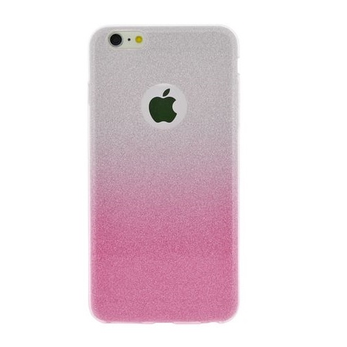 Ochranný ozdobný kryt 4-OK pre Apple Iphone 6/6S, Ružový/Strieborný