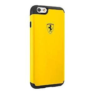 Odoln� puzdro Scuderia Ferrari pre Apple iPhone 6 a 6S, Yellow/Black