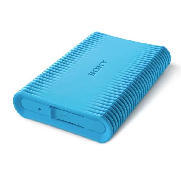 """Odolný Prenosný HDD Sony Slim 2,5"""", 1000 GB, USB 3.0, Blue"""