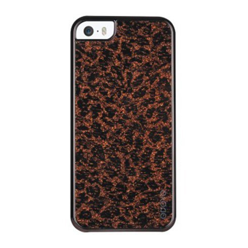 Odoyo kryt Glamour pre iPhone SE/5S/5, flash'in leopard PH382LD