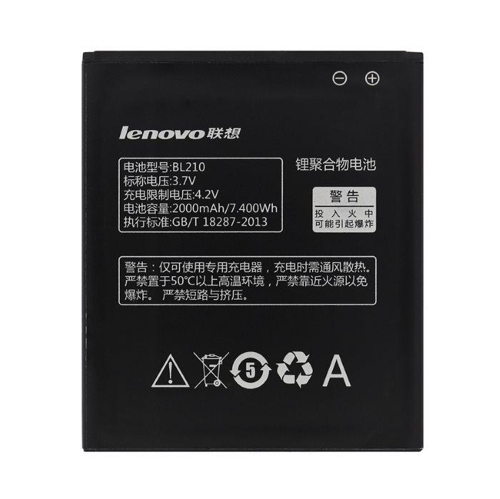 Originálna batéria Lenovo BL210, (2000 mAh)