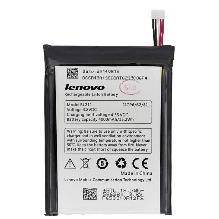 Originálna batéria Lenovo BL211, (4000 mAh)