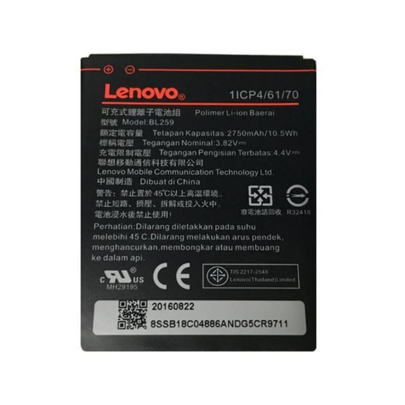 Originálna batéria Lenovo BL259, (2750 mAh)