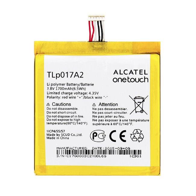 Originálna batéria pre Alcatel One Touch Idol Mini - 6012D a 6012 - (1700 mAh)