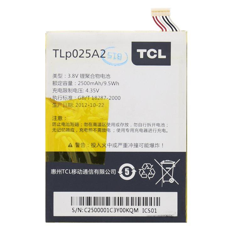 Originálna batéria pre Alcatel One Touch Scribe Easy - 8000D a 8000 - (2500 mAh)