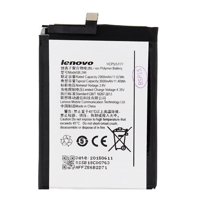 Originálna batéria pre Lenovo Vibe Shot, (3000 mAh)