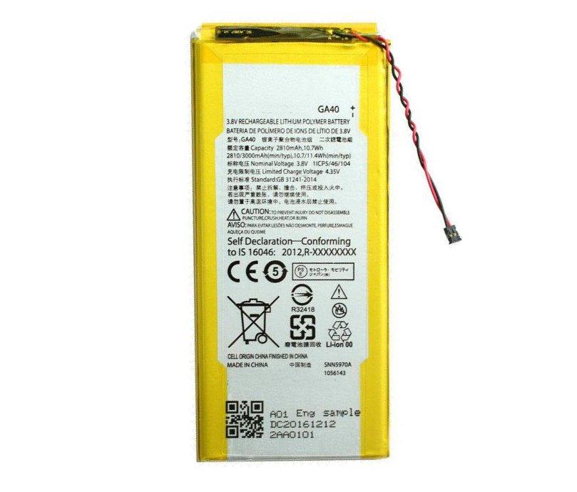 Originálna batéria pre Motorola Moto G4 Plus, (3000 mAh) GA40