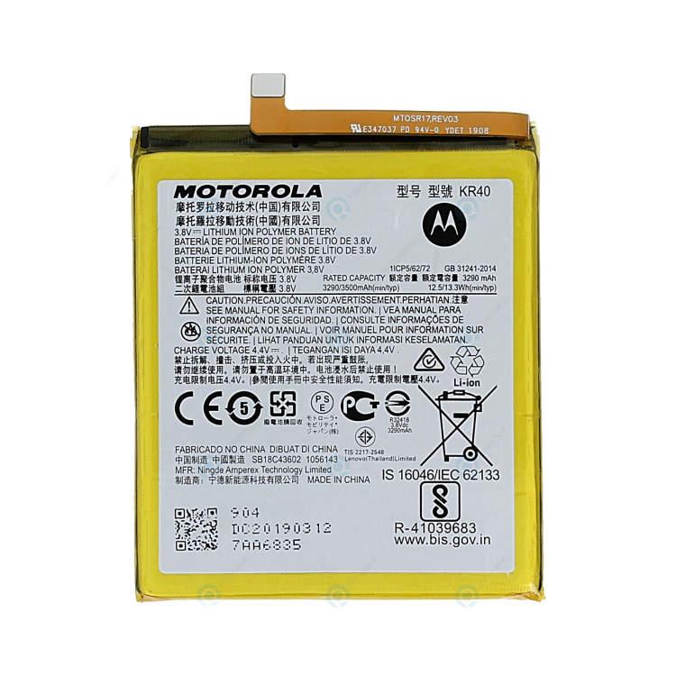 Originálna batéria pre Motorola One Vision (3500 mAh) KR40