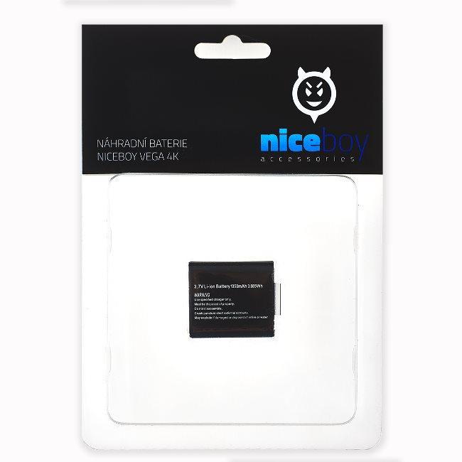 Originálna batéria pre Niceboy VEGA 4K, VEGA 5, VEGA 6 STAR a VEGA 6, (1050 mAh)