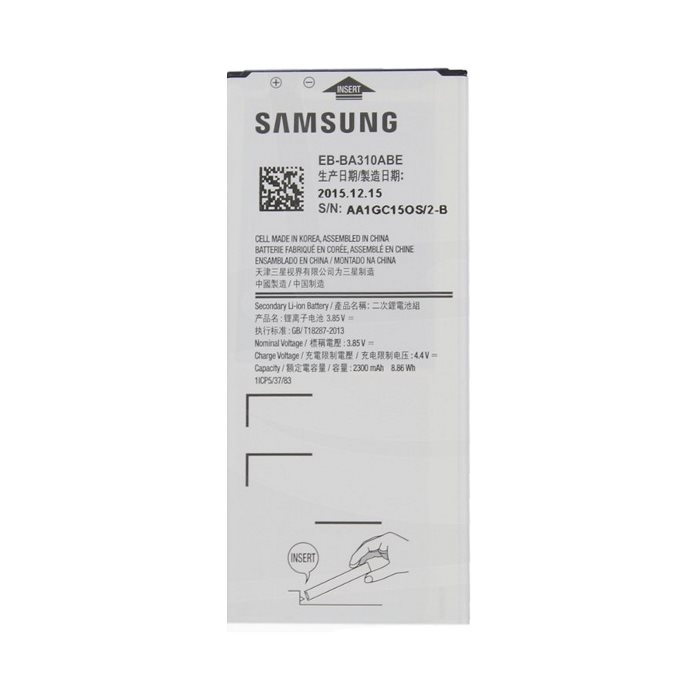 Originálna batéria pre Samsung Galaxy A3 2016 - A310F, (2300mAh) EB-BA310ABE