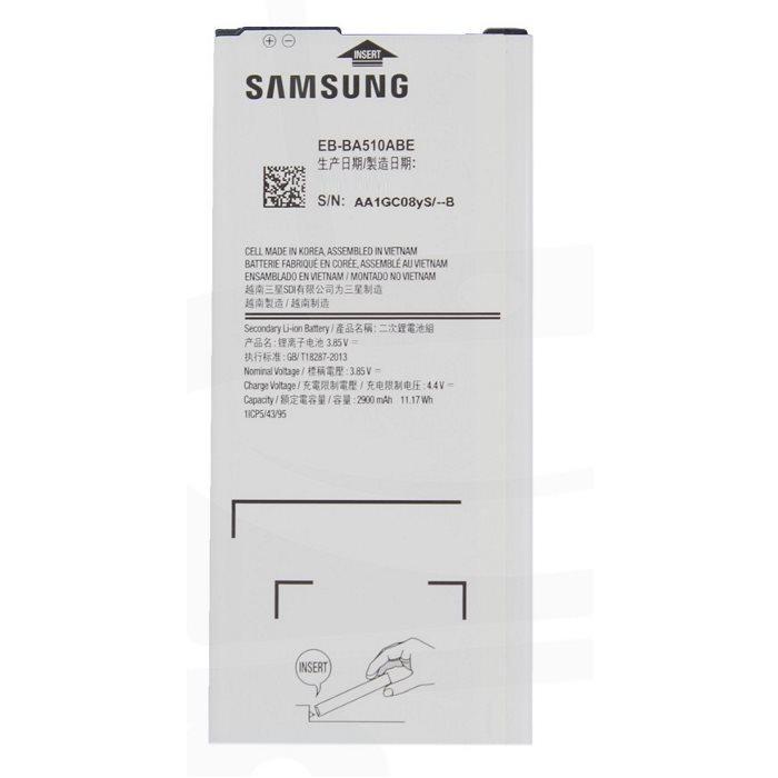 Originálna batéria pre Samsung Galaxy A5 2016 - A510F, 2900 mAh EB-BA510ABE