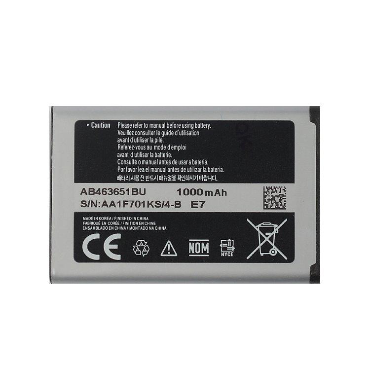 Originálna batéria Samsung AB463651B, (1000mAh)