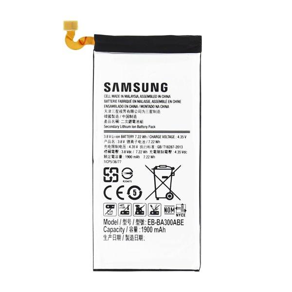 Originálna batéria pre Samsung Galaxy A3 (1900 mAh) EB-BA300BBE