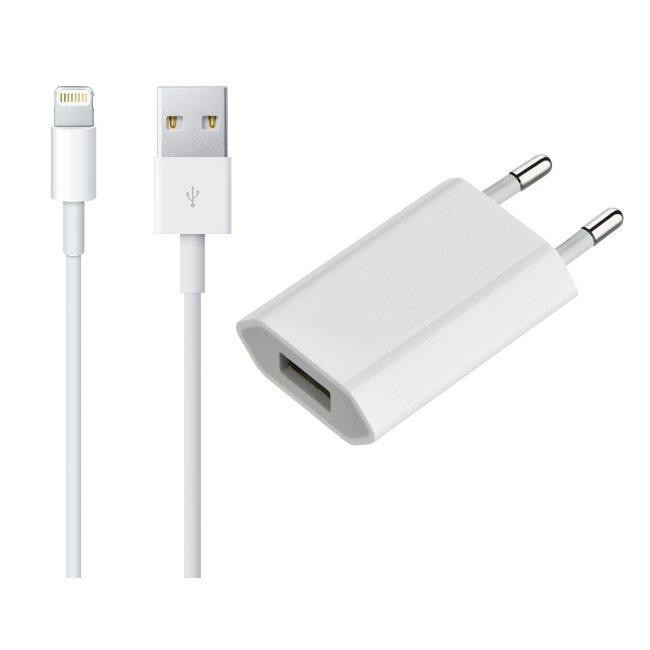 Apple nabíjačka s dátovým káblom pre iPhone 7, iPhone 7 Plus, iPhone 8, iPhone 8 Plus a iPhone X