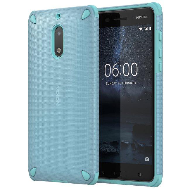 Originálne puzdro Nokia Rugged Impact CC-501 pre Nokia 6, Sage Mint 1A21MKY00VA